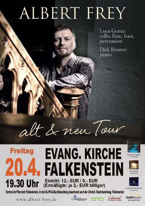 Plakat Albert Frey, 20.04.2018 in Falkenstein