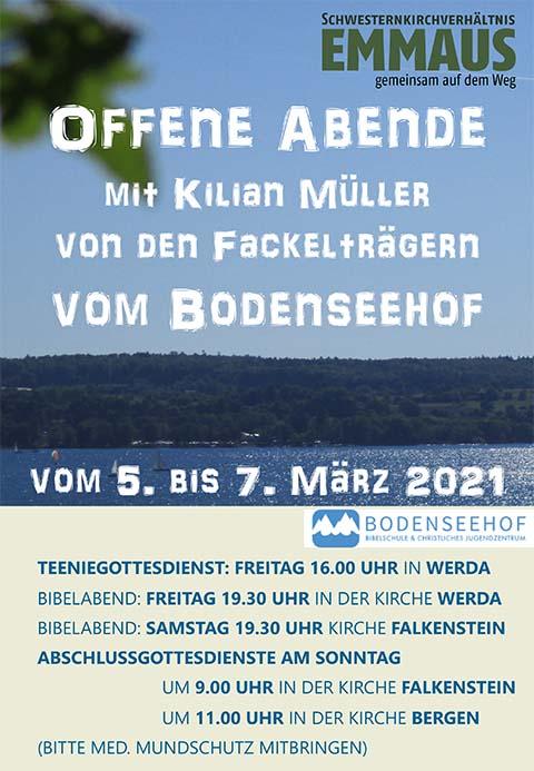 Plakat Fackelträger 2021